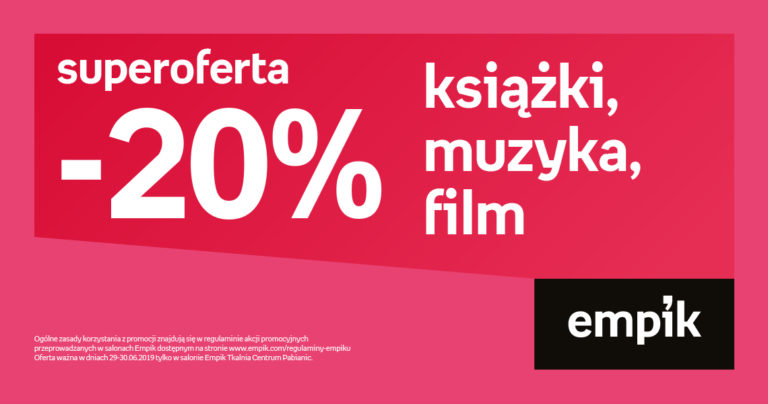 Super oferta od Empik!