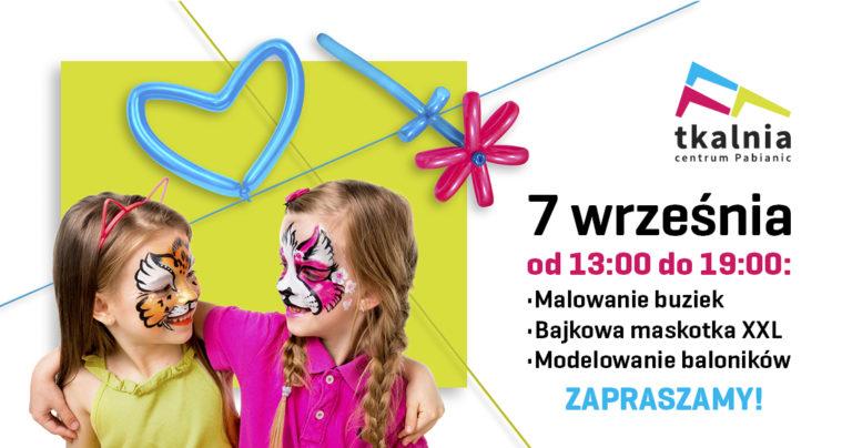 Atrakcje dla dzieci w Tkalni w dniu 07.09.2019 r.