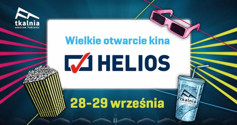 Wielkie otwarcie Kina Helios w Pabianicach 28-29.09.2019 r.