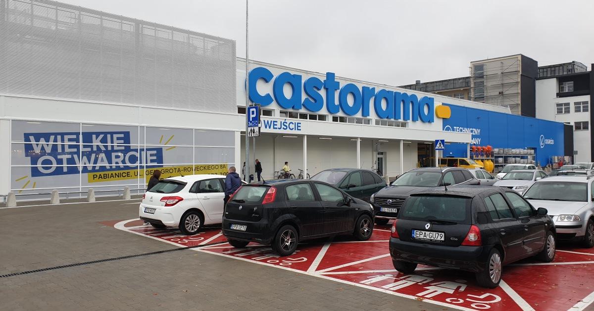 Castorama W Gronie Marek Tkalni Centrum Handlowe Tkalnia Pabianice
