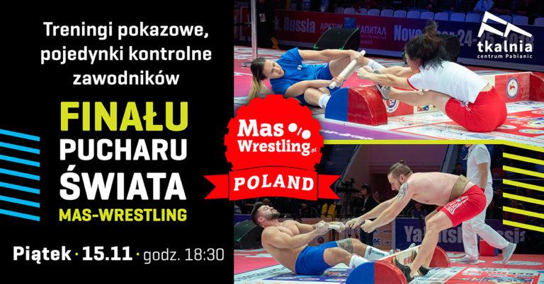 Trening zawodników Mas-Wreslingu w Tkalnia Pabianice