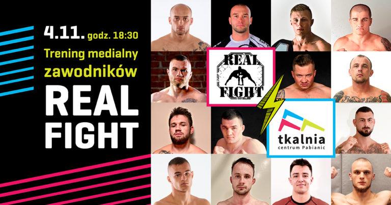 Trening zawodników Real Fight 3 w Tkalnia Pabianice!
