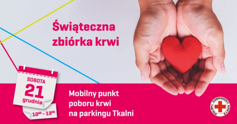 Oddaj krew – uratuj życie!