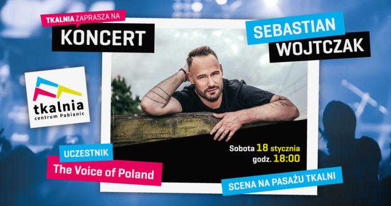 Tkalnia zaprasza na koncert Sebastiana Wojtczaka