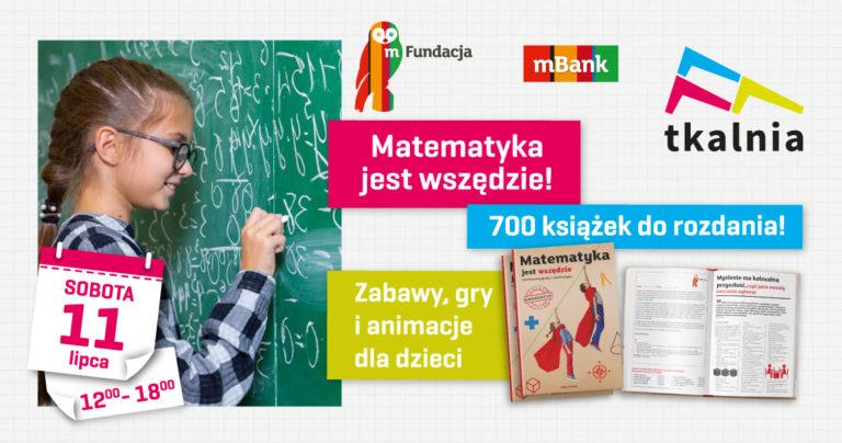 """""""Matematyka jest wszędzie"""" – event z mBankiem w Tkalni"""