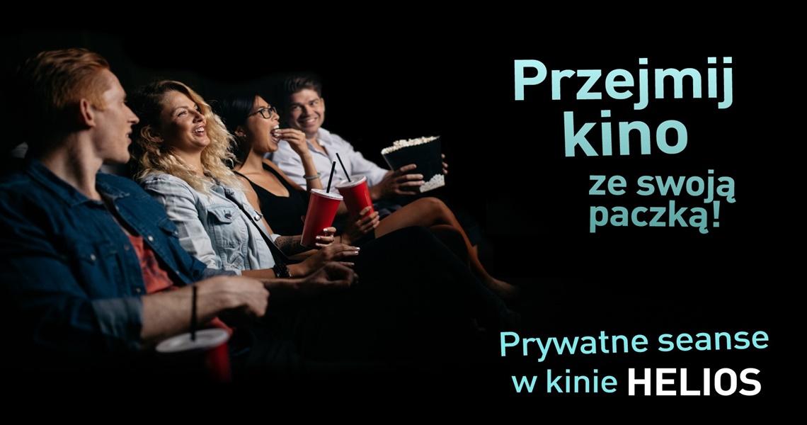 Seanse Prywatne w kinie Helios w Tkalni