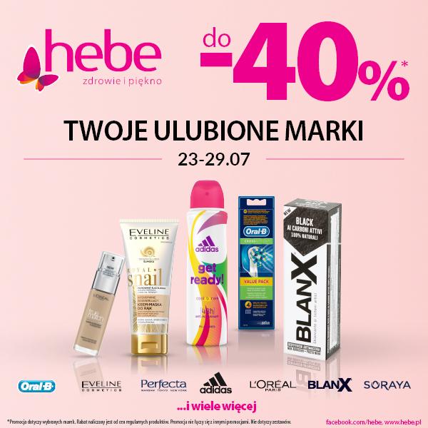 Nowa promocja od Hebe w Tkalni
