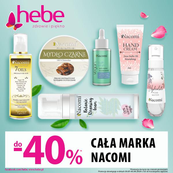 Promocja w sklepie Hebe