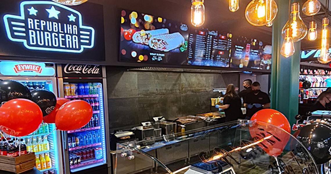 Pierwsza restauracja sieci Republika Burgera w Pabianicach