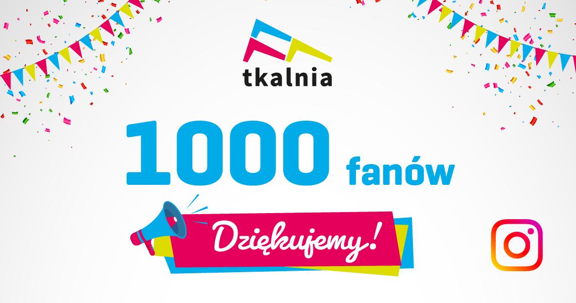 """Konkurs w Tkalni """"1000 fanów"""""""