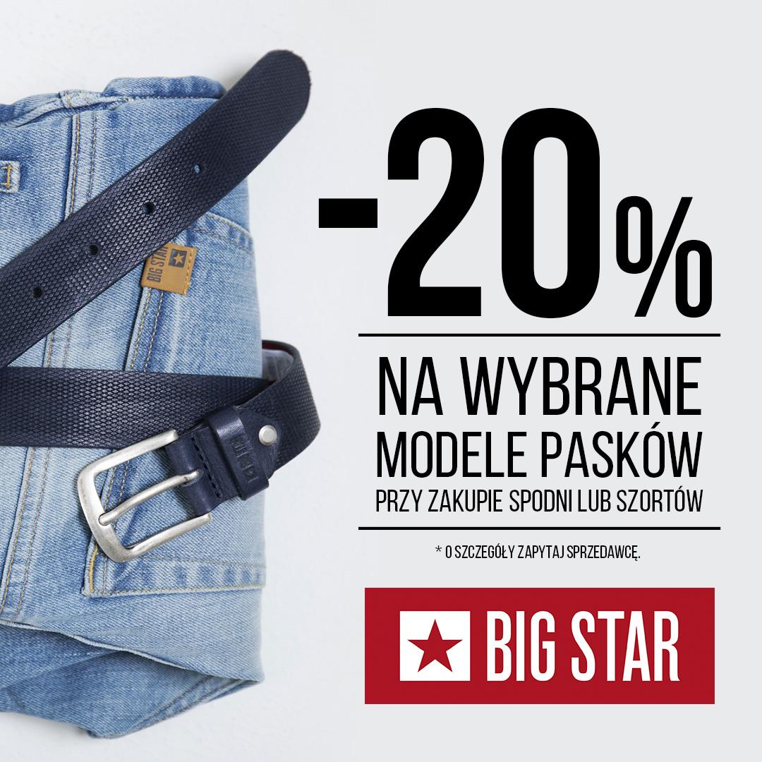 Big Star w Tkalni - rabaty do 20%