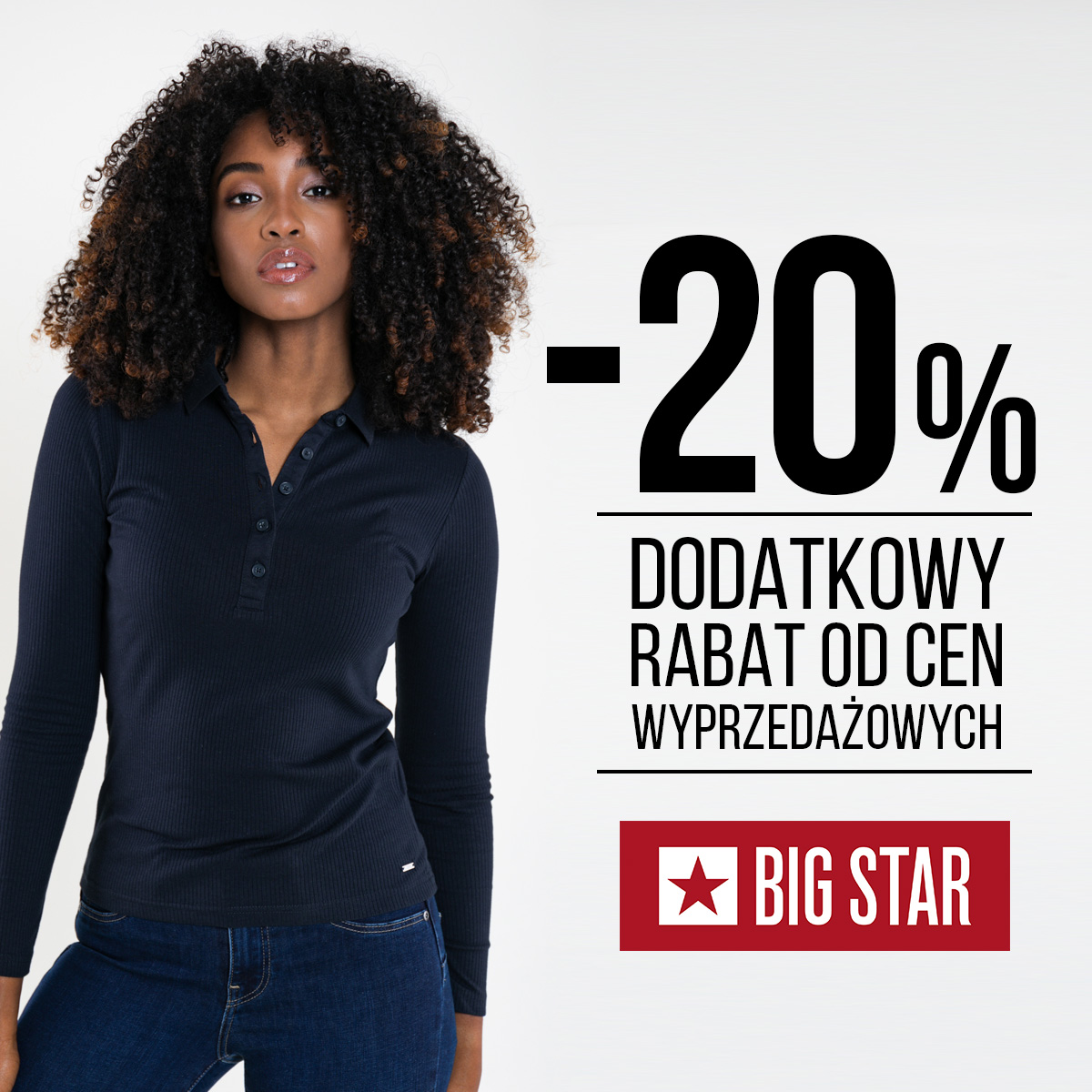 Promocje w sklepie Big Star w Tkalni
