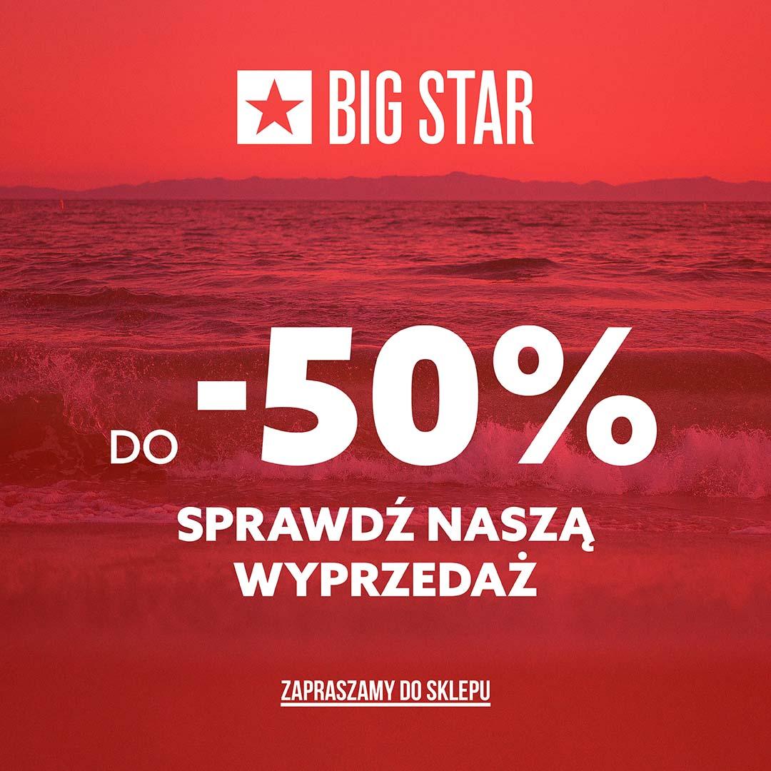 Letnia wyprzedaż w Big Star w Tkalni