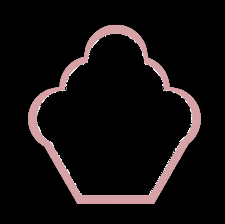 Logotyp kawiarni Kraina Słodkości