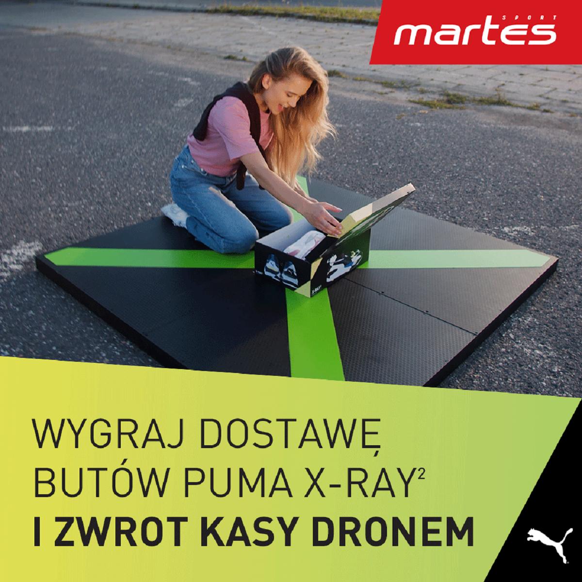 Konkurs w sklepie Martes Sport w Tkalni