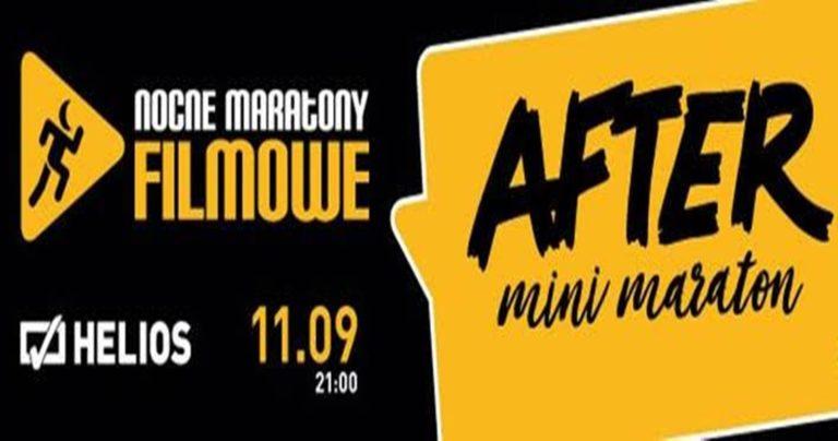 Mini Maraton After – Nocne Maratone Filmowe w kinie Helios w Tkalni