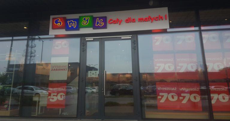 SMYK w Tkalni: promocje i nowości