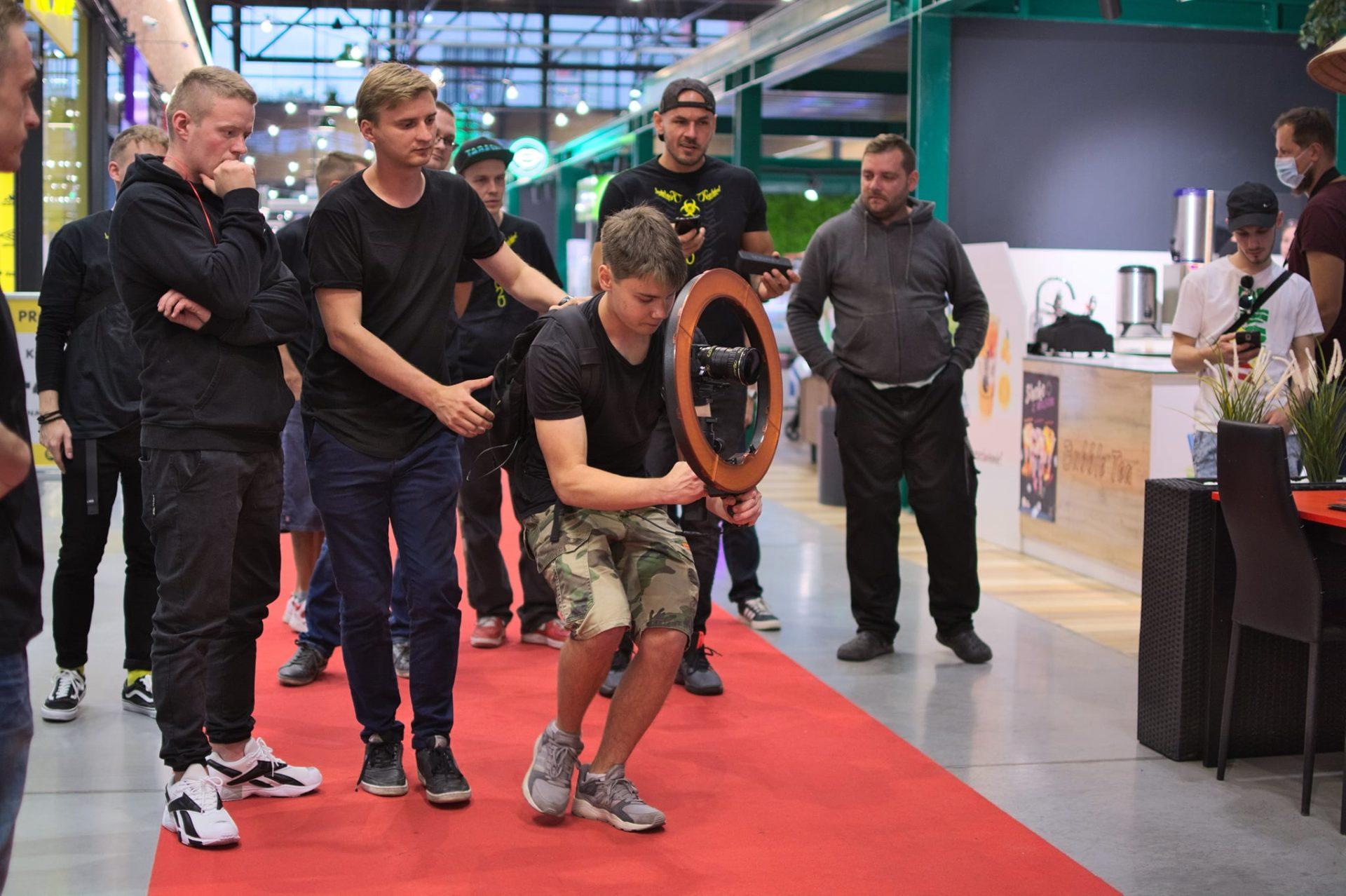 W Tkalni był kręcony klip do eventu Rap Lokal
