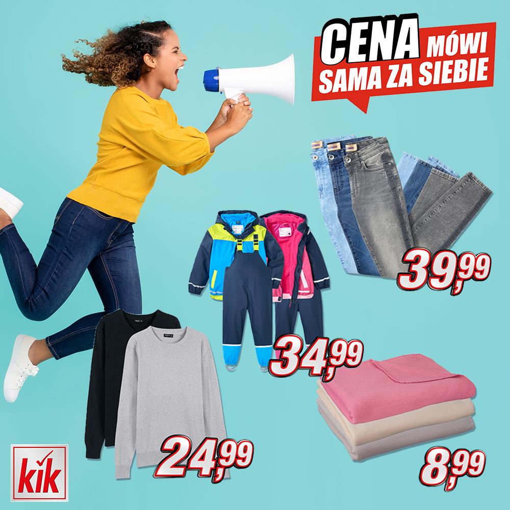 Promocje tygodnia w sklepie Kik w Tkalni