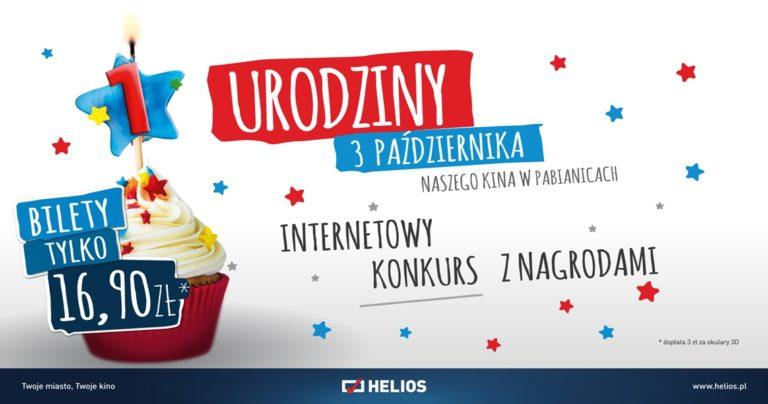 Pierwsze urodziny Kina Helios w Tkalni w Pabianicach