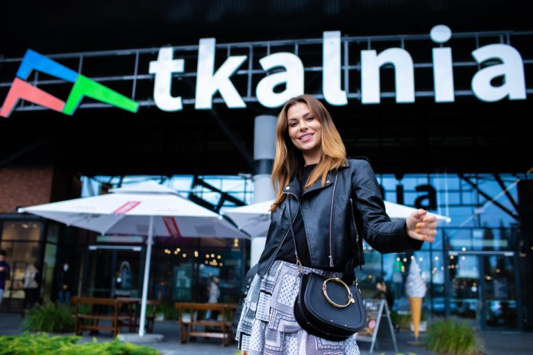 Agata Biernat w Tkalni