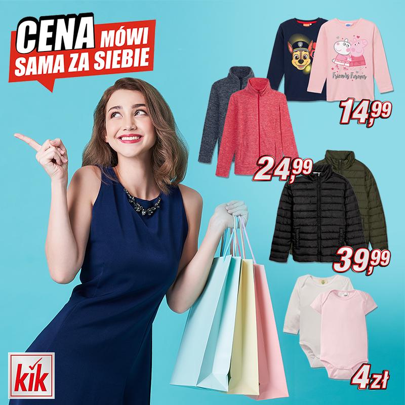Kik w Tkalni: promocje