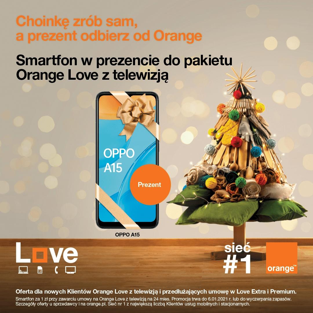 Orange w Tkalni