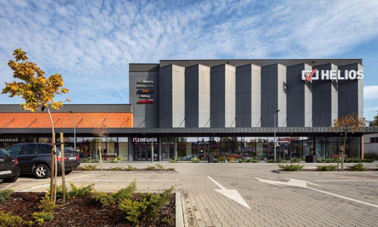 Kino Helios na terenie centrum handlowego Tkalnia
