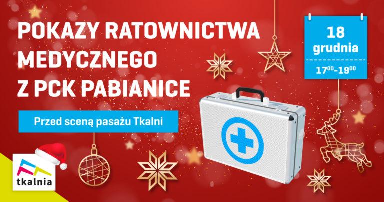 Pokazy ratownictwa medycznego w Tkalni