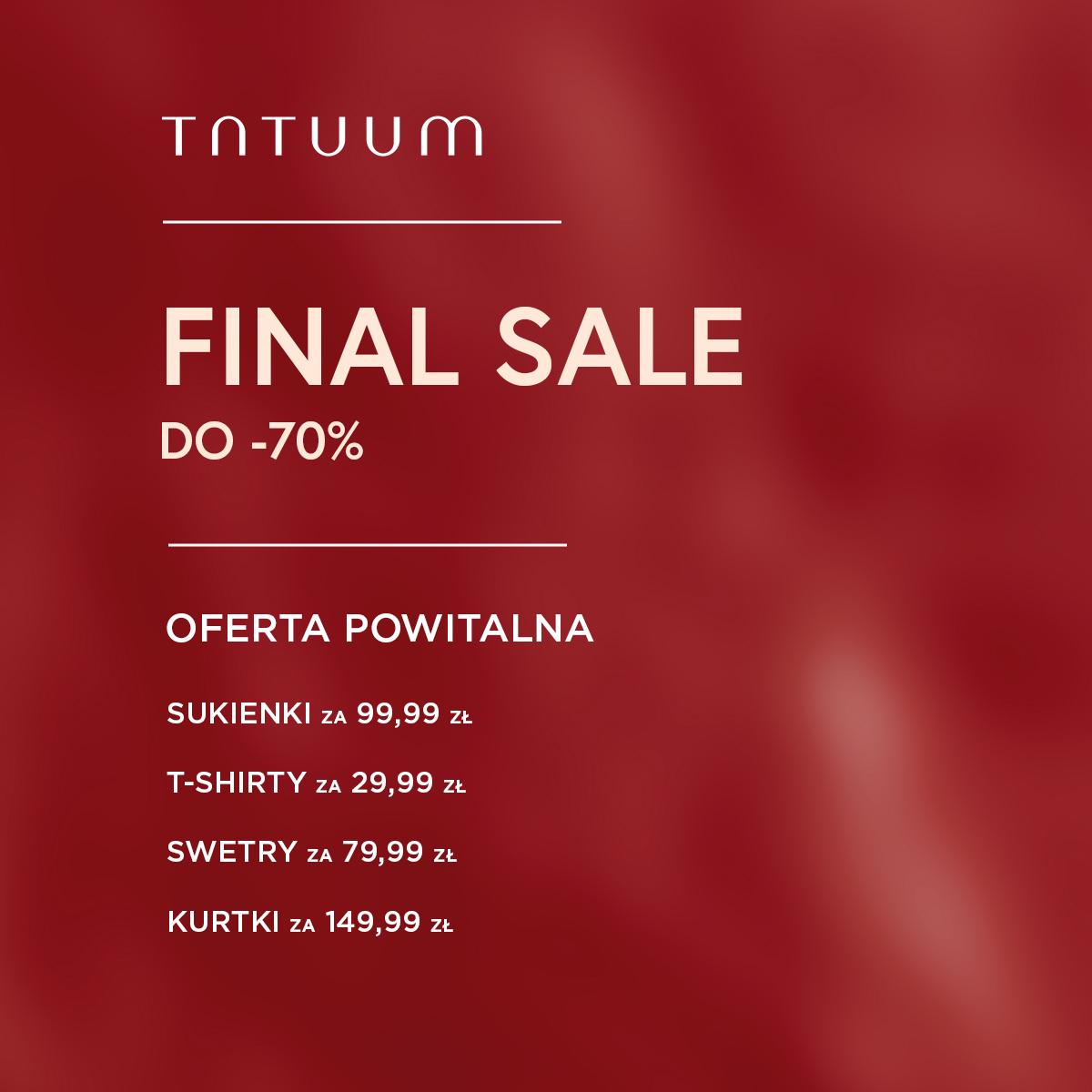 Sklep Tatuum w Tkalni