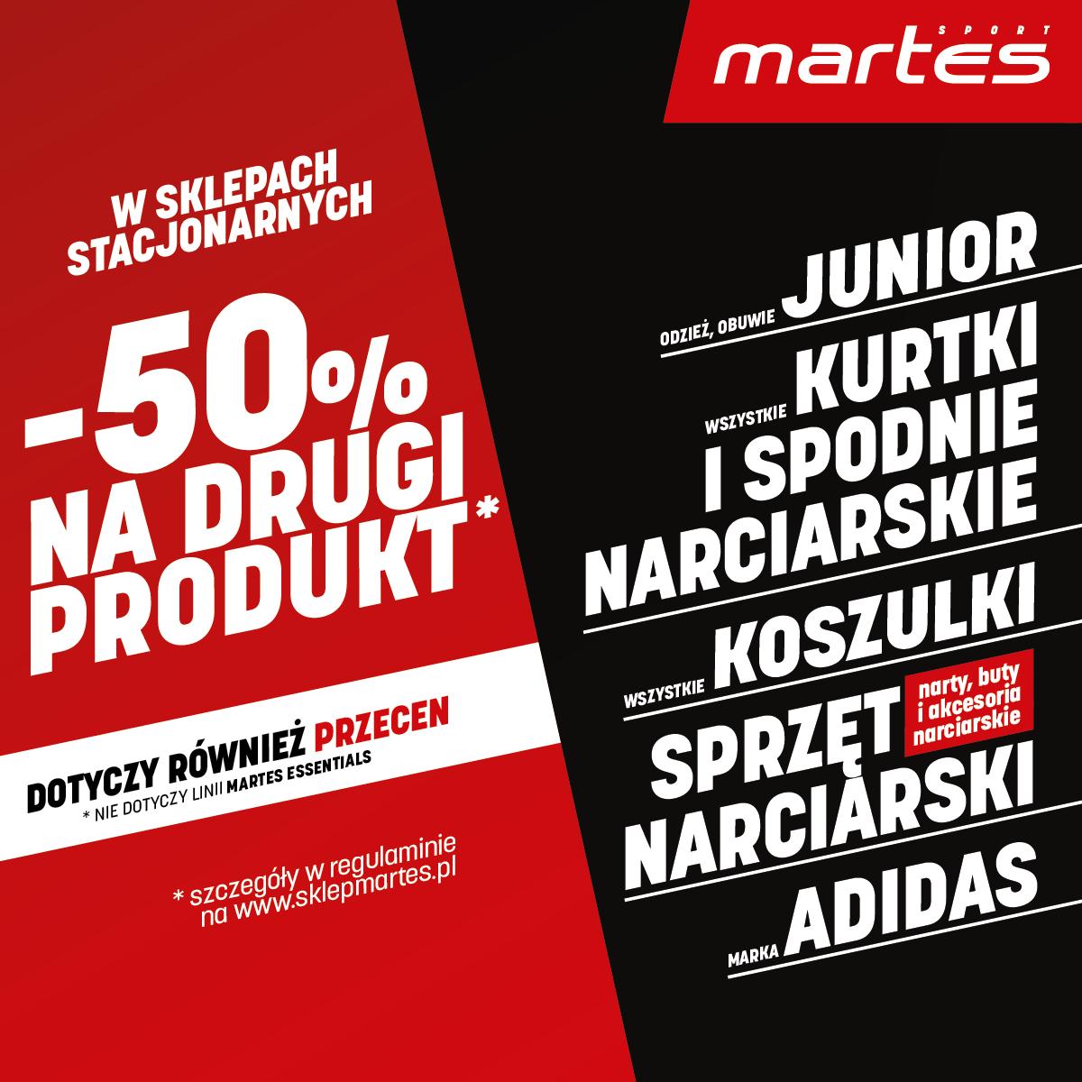 Sklep Martes Sport w Tkalni