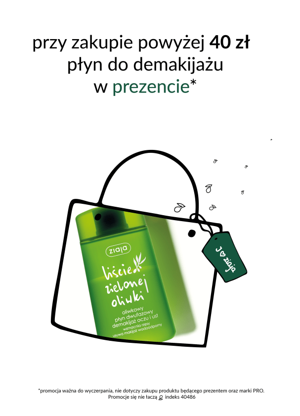 Promocja w sklepie Ziaja w Tkalni