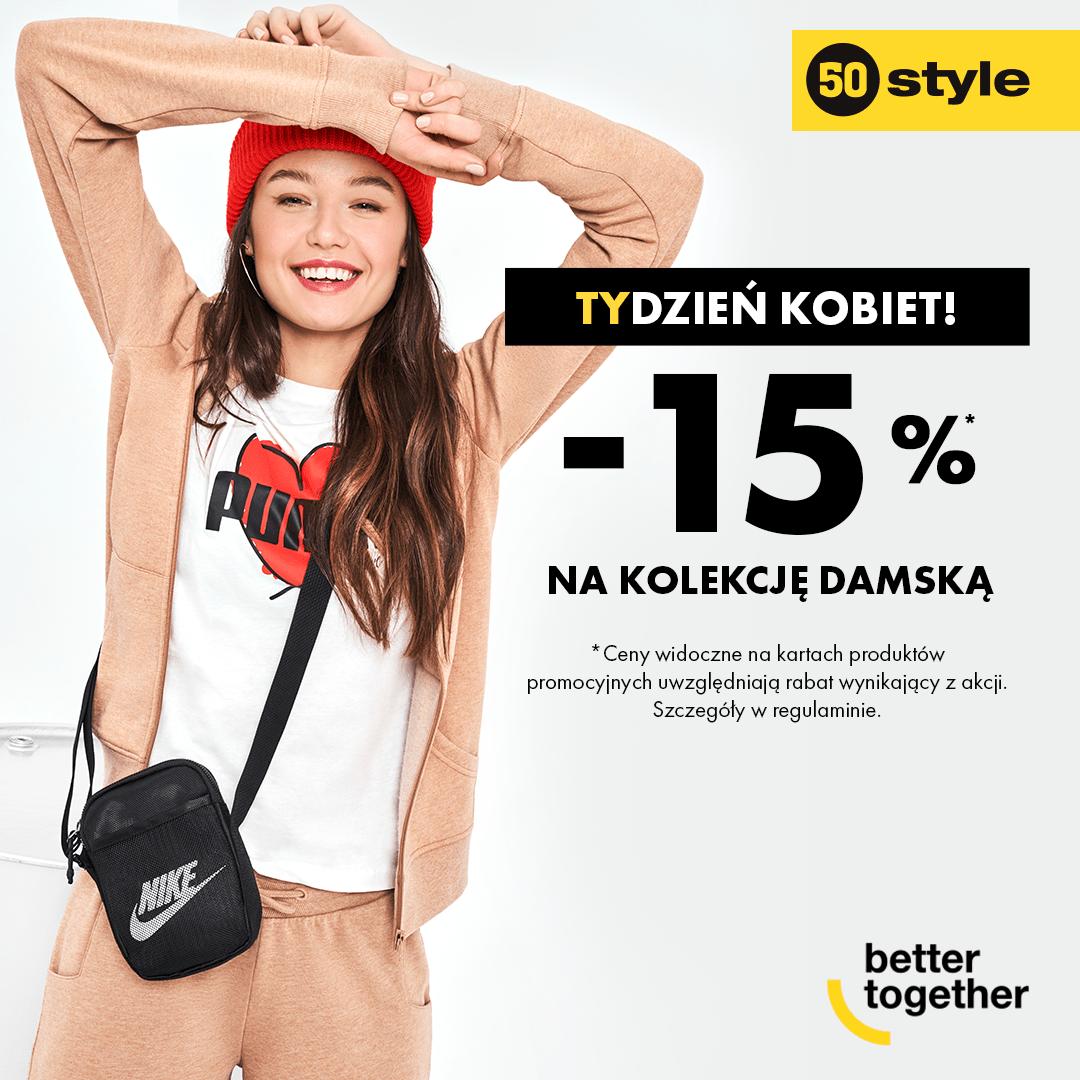 Promocja w sklepie 50 Style w Tkalni