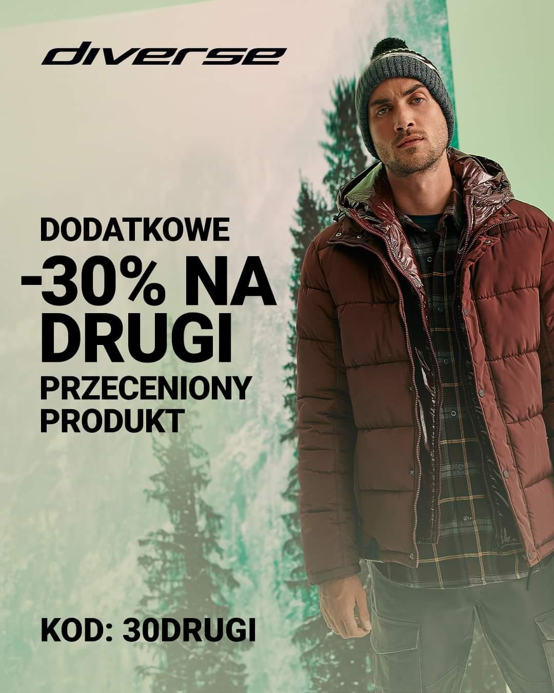 Promocja w sklepie Diverse