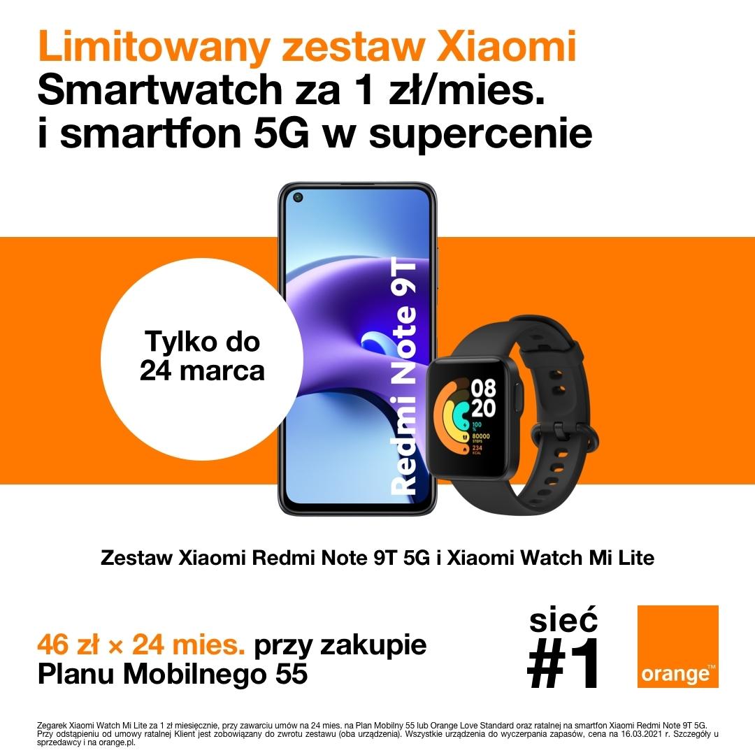 Smartfon w supercenie w salonie Orange w Tkalni