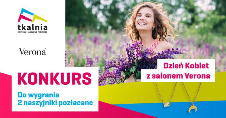 Konkurs na Dzień Kobiet z salonem Verona