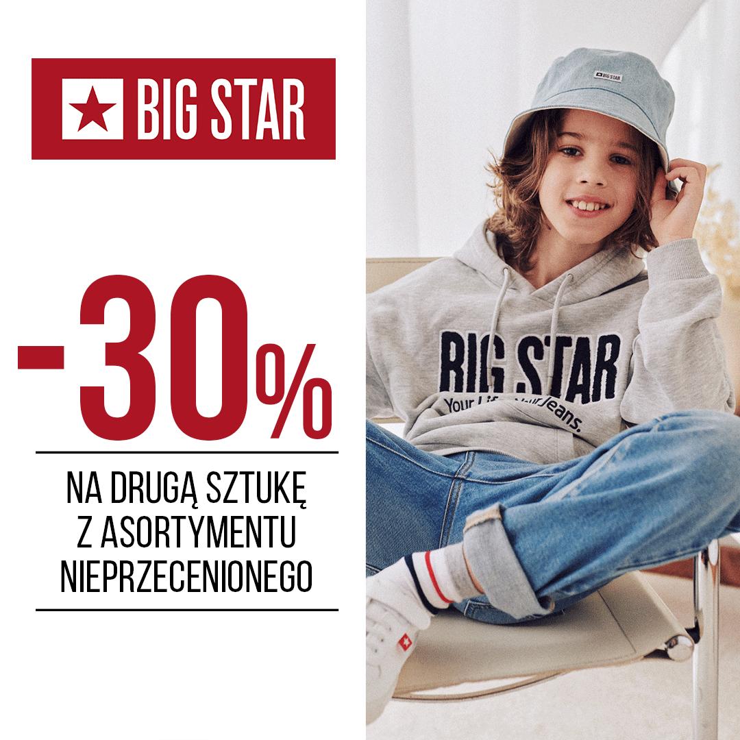 Promocja w sklepie Big Star w Tkalni
