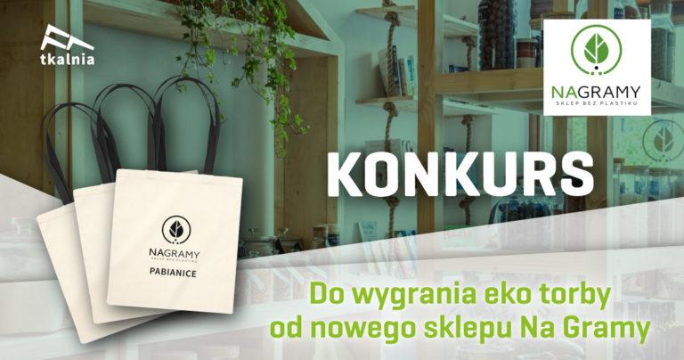 Otwarcie sklepu Na Gramy w Tkalni – konkurs