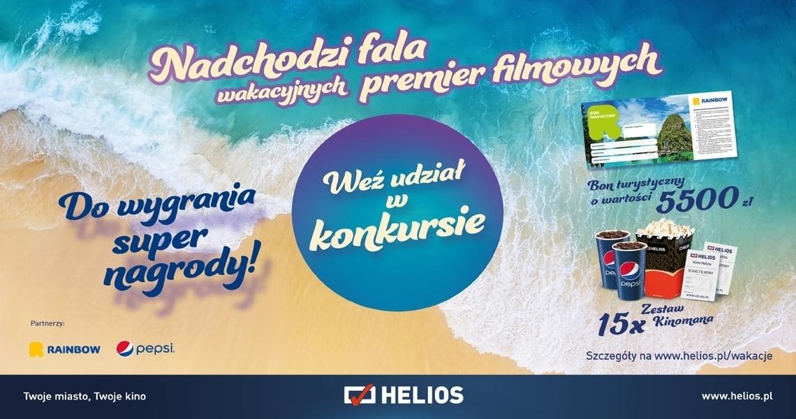 Konkurs w kienie Helios w Tkalni