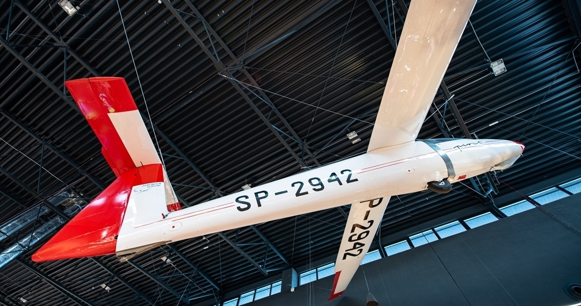 SZD-30 Pirat w Tkalni Pabianice