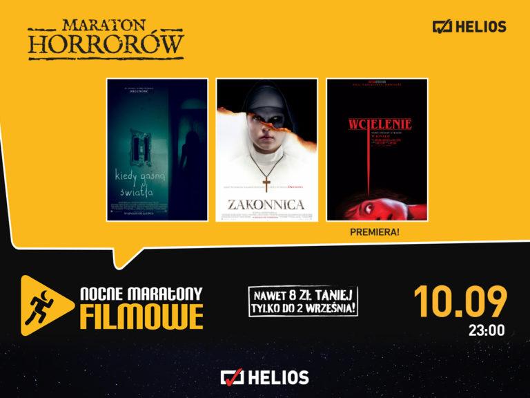 Maraton Horrorów – Kino Helios