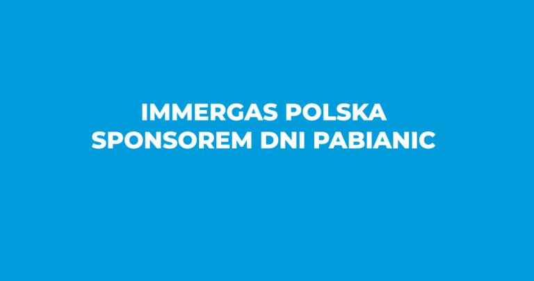 Immergas Polska sponsorem Dni Pabianic